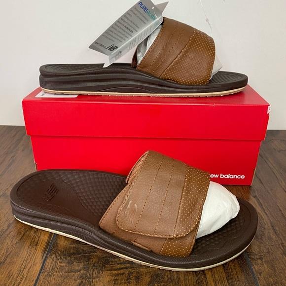 Purealign Recharge Slide Sandals Sz 8